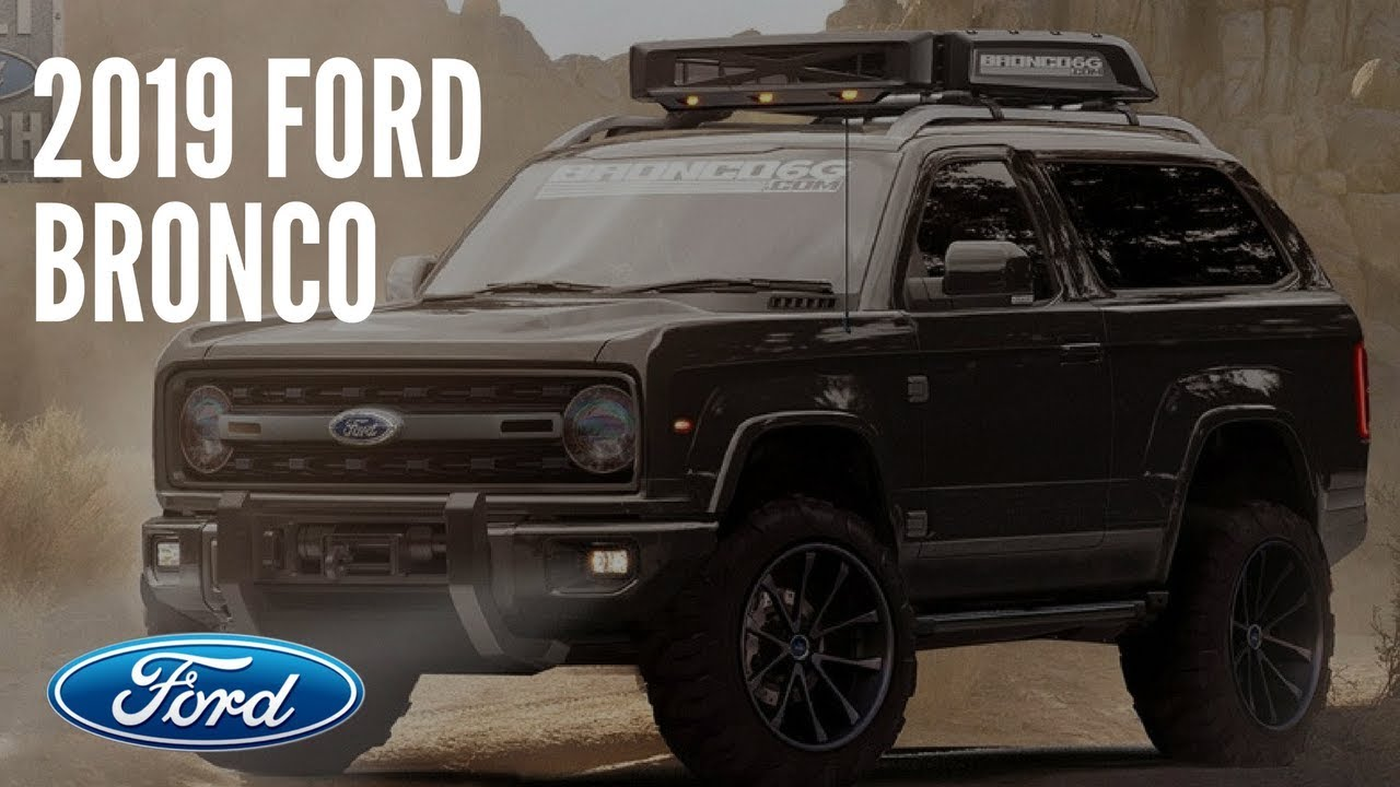 2019 ford bronco youtube