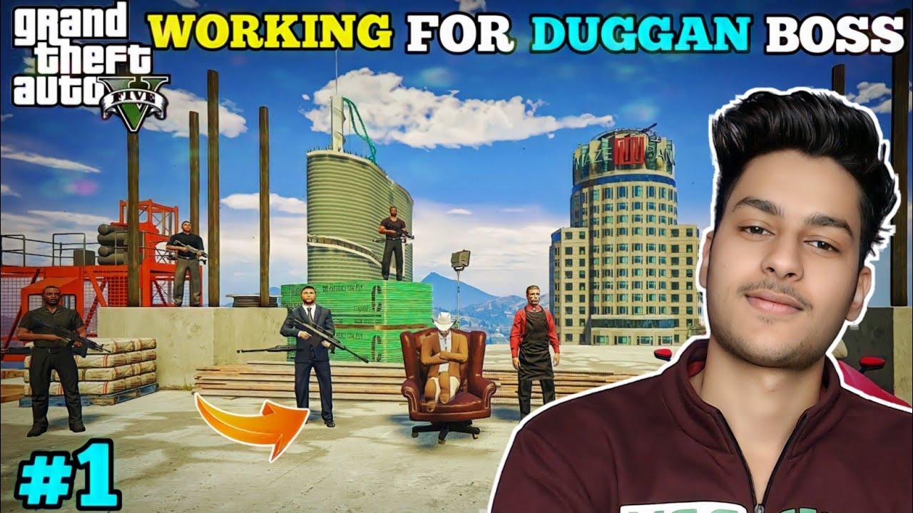WORKING WITH DUGGAN BOSS | GTA-V GAMEPLAY | JJ #1 @facecam