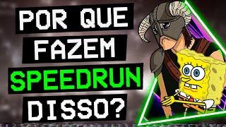 SPEEDRUNS de jogos que passaram dos LIMITES!