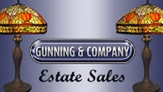 GUNNING AND COMPANY ESTATE SALES, LLC NARBERTH PA ESTATE SALE VIDEO