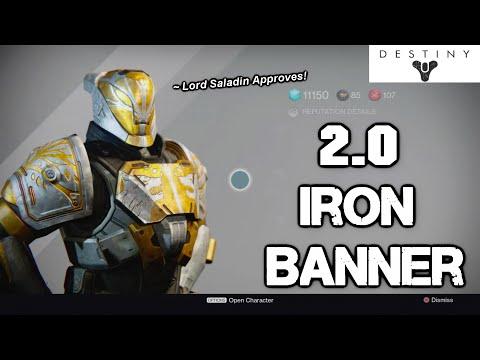 Destiny 2 Iron Banner Event Guide
