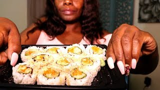 SUSHI ASMR Eating Pickle Chips Intense+Using My Hands