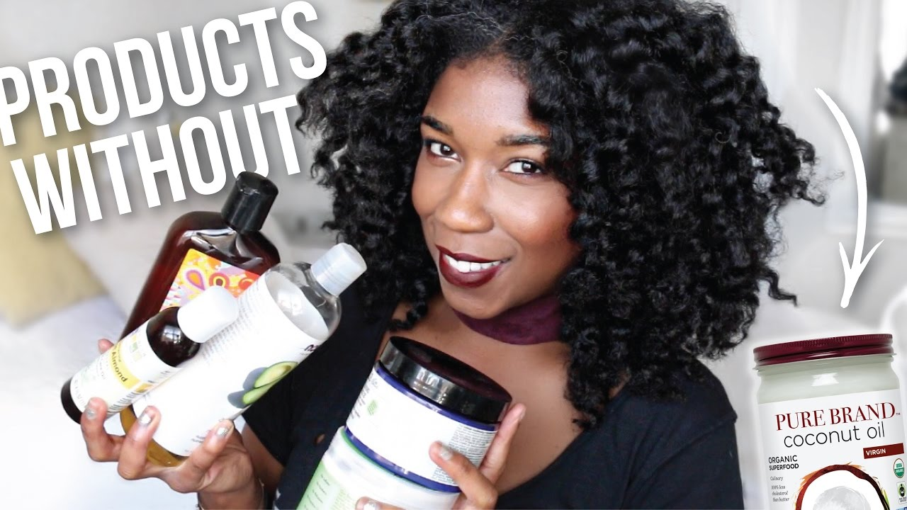 Natural Hair Products WITHOUT Coconut Oil I\'ve Been Using! - YouTube
