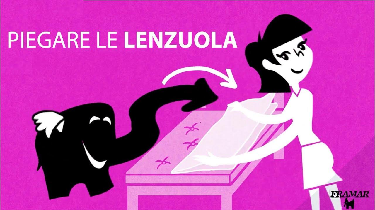 Come Piegare Le Lenzuola Matrimoniali.Piegare Le Lenzuola Youtube