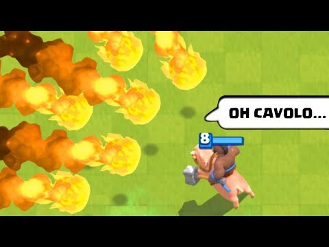 I MOMENTI PIÙ DIVERTENTI DI CLASH ROYALE! 😂 (Funny & Epic Moments)