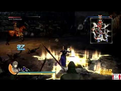 Dynasty Warriors 8 Wei Campaign Walkthrough Part 12 - Battle of Tong Gate