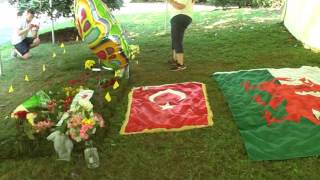 Muhammad Ali Grave site Cave Hill Cemetery Louisville Kentucky June 11 2016