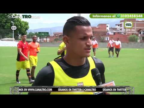 Bucaramanga entrenó hoy con Sergio Romero como novedad - Deportes TRO