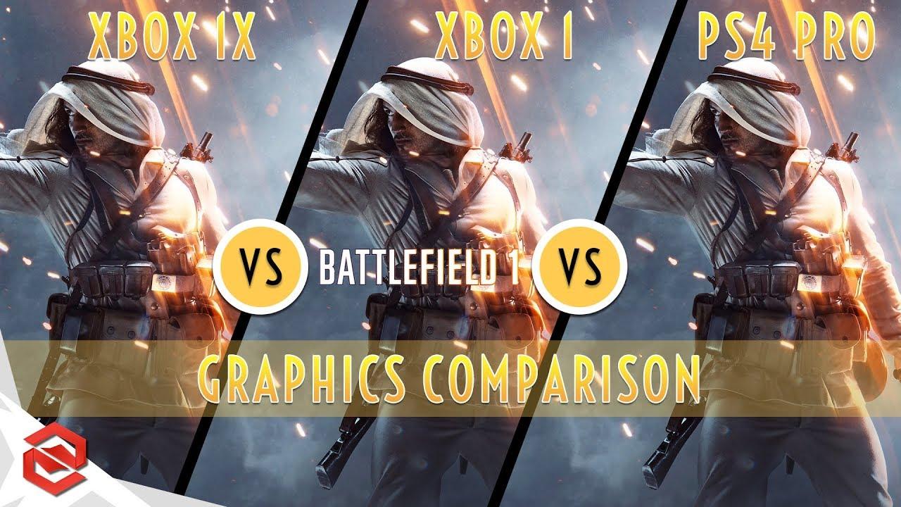 Battlefield 1 Xbox One X Or Ps4 Pro Wiring Diagrams Parts Diagram List For Model 59677599802 Kenmoreeliteparts Vs Graphics Rh Youtube Com