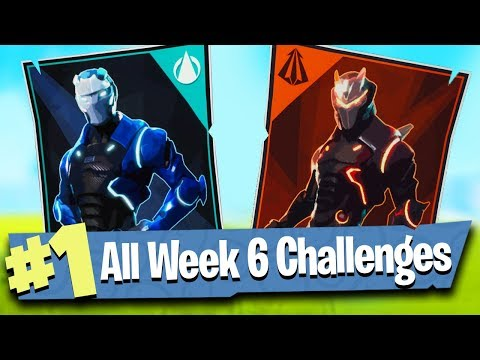 Fortnite WEEK 6 CHALLENGES Guide (Poster Locations + Free Battle Pass Tier!)