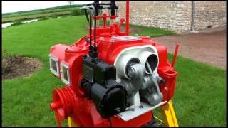 Moteur de tracteur MAP 2H88 à pistons opposés