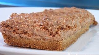 Пирожное Краковское. Очень вкусно!(Сайт проекта:http://www.videocooking.ru Приготовлено по рецепту из книги