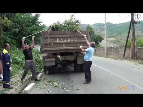 Մաքուր Հայաստանի շրջանակներում. շաբաթօրյակ Բերդ քա