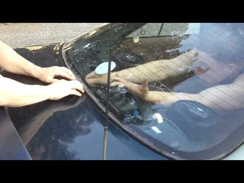 How to take out a Cars Window on a JUNK CAR, yourself