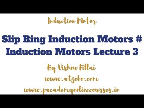 Slip Ring Induction Motors # Induction Motors Lecture 3