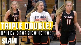 Hailey Van Lith Drops TRIPLE-DOUBLE with 30-10-10! 😱