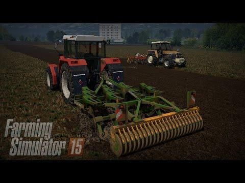 Gospodarstwo Rolne #5 ☆ Farming Simulator 15 Multiplayer - Slovakia Map ☆ Gruberowanie na dwa ㋡