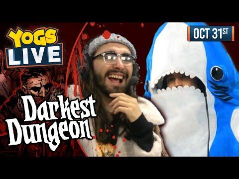 SHARKY & PALP?! - Darkest Dungeon W/ Ben & Harry - 31/10/19