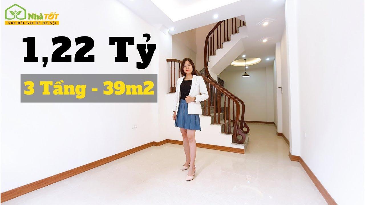 Bán Nhà Hà Nội 39m2 Xây 3 Tầng – Giá Rẻ Nhất Hà Nội II Liên Hệ 0983013403