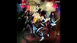 KISS - SHE - KISS ALIVE ALBUM 1975