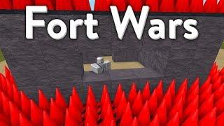 FORT WARS!!! || Roblox
