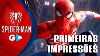 SPIDER MAN PS4 - Homem Aranha, gameplay EXCLUSIVO, minhas primeiras impressões, o jogo é BOM?