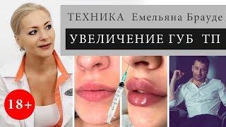 О технике увеличения губ ТП - рассуждения косметолога / Емельян Брауде / тугая писечка