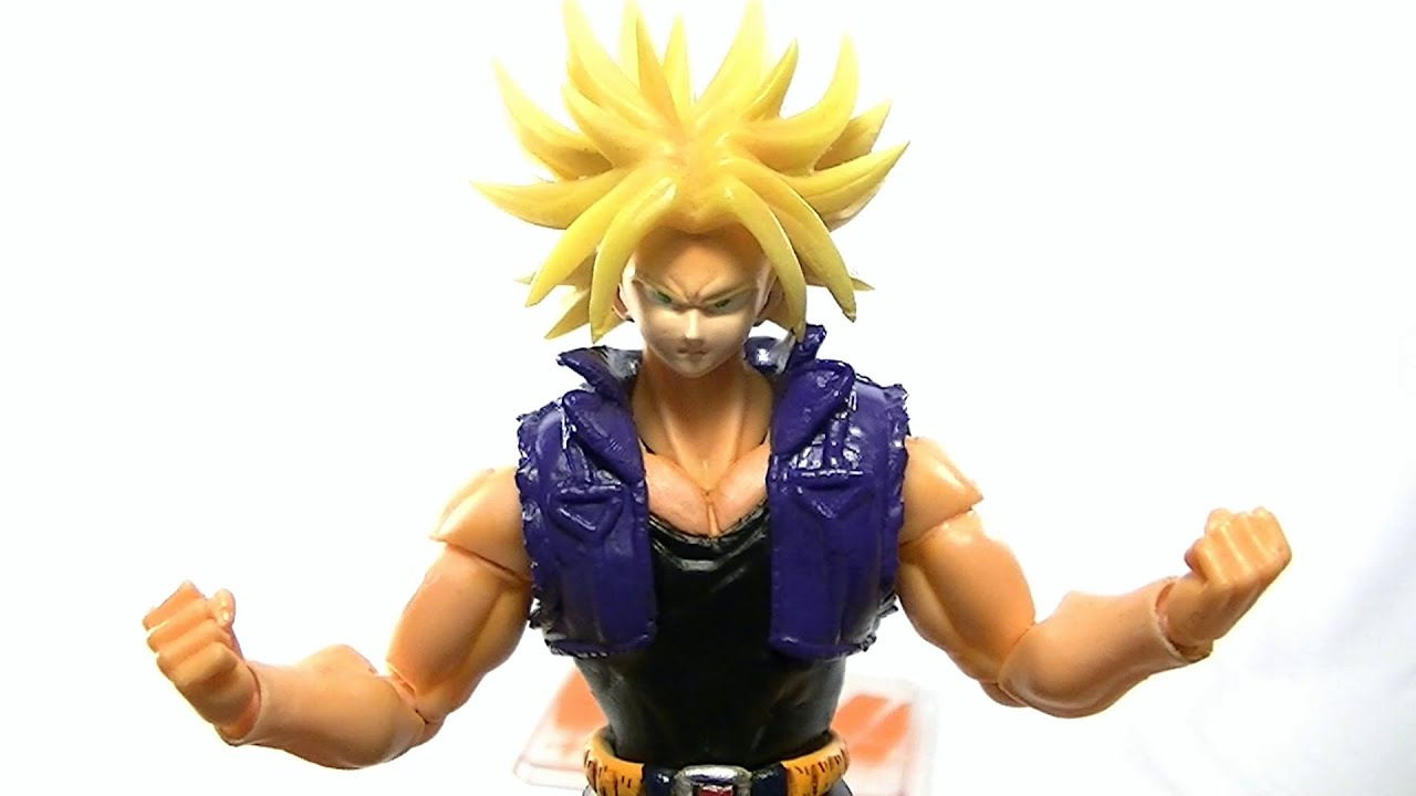 S.H.Figuarts TRUNKS Movie Ver. Custom Action Figure Bandai ...