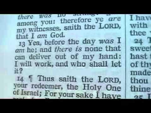 Isaiah 43 Holy Bible (King James)