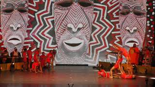 AFRICAN ACROBATS MANAGEMENT PYRIMID ACT #5