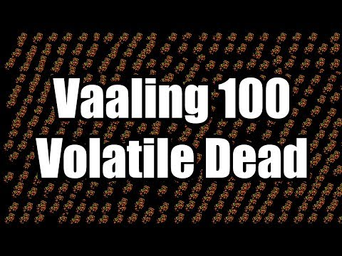 Slippery Quickie: Vaaling 100 Volatile Dead Gems