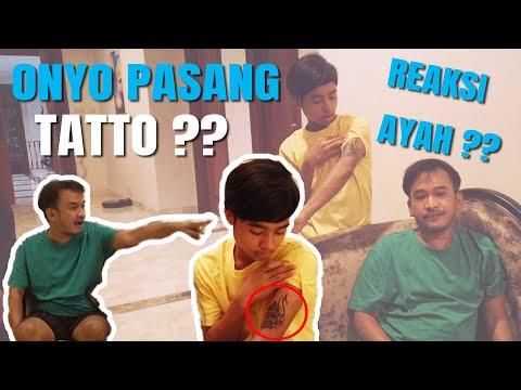 The Onsu Family - ONYO PASANG TATTO?? Ini Reaksi Ayah!