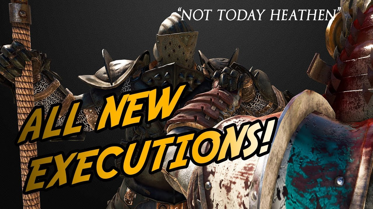 ALL NEW SEASON 7 Executions Reaction! - | For Honor