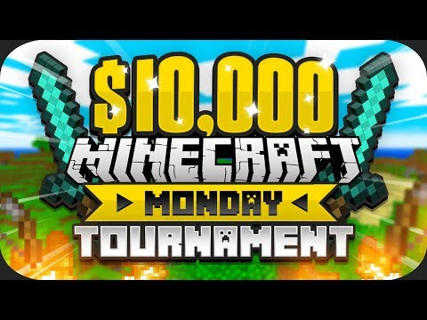 $10,000 MINECRAFT Monday Tournament w/ Zerkaa (Sidemen Duo) (Week 6)