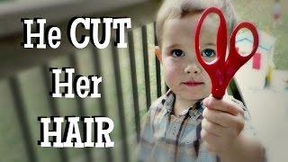 ✂️😳He CUT Her HAIR!