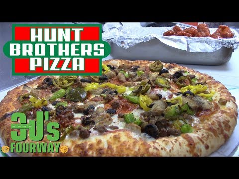 HUNT BROTHERS PIZZA - 3J's FourWay