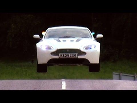 350cc7300494 Test Driving The Aston Martin V12 Vantage  TBT - Fifth Gear - YouTube