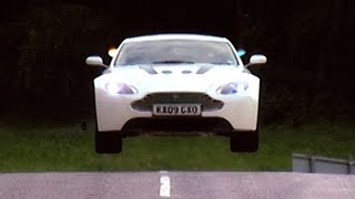 Test Driving The Aston Martin V12 Vantage #TBT - Fifth Gear