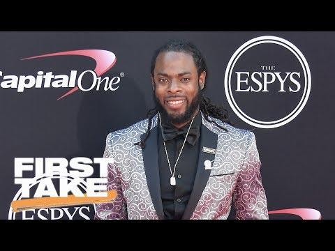 First Take Reacts To Richard Sherman And NFL Player Strike Rumors | First Take | July 17, 2017