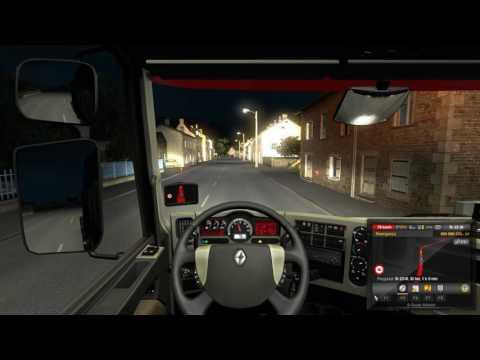 Euro Truck Simulator DLC Vive La France Paris - Rennes