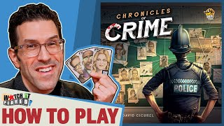 Chronicles of Crime - How To Play