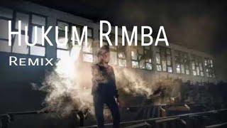 Hukum Rimba - cover by ardhi (dj remix rock)