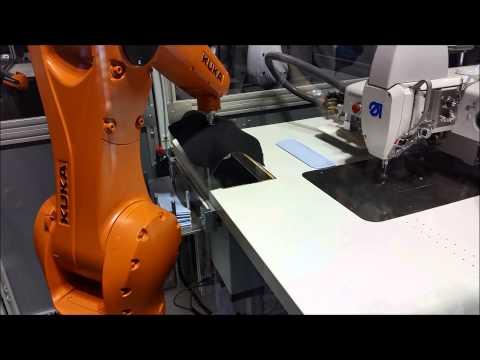 Робототехника в швейной промышленности  Автоматизация производства