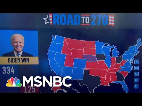 Biden Leads In