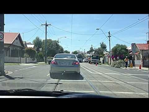Driving in Melbourne Suburban