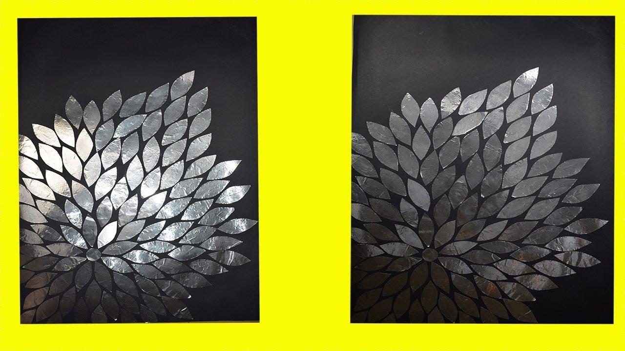 Aluminum Foil paper Room Decor Ideas | Easy Aluminum Foil Crafts ...