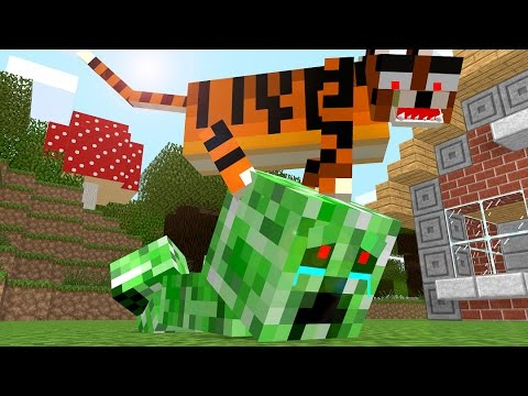 how to make a creeper in minecraft