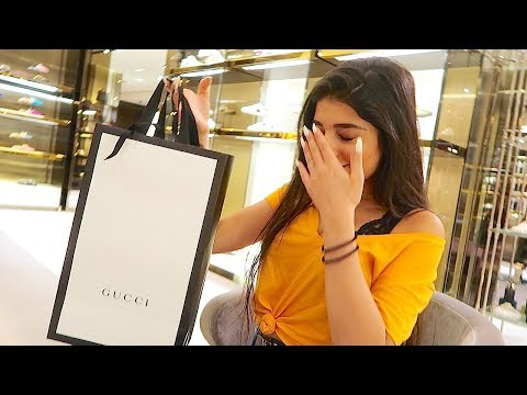 SURPRISING HER WITH GUCCI GIFTS !!! *EMOTIONAL*