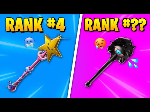 Top 10 Most TRYHARD PICKAXES In Fortnite Chapter 2! (Sweatiest Pickaxes Chapter 2 Season 2)