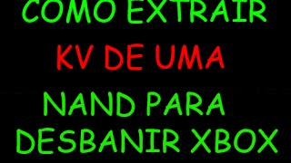 COMMENT puis-je EXTRAIRE le KV (KeyVault) sur LA mémoire flash NAND POUR l'AUTO, MÊME POUR un DESBANIR sur VOTRE XBOX !